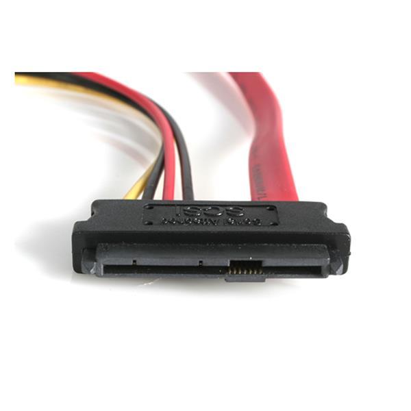 StarTech SAS729PW18 StarTech.com 18in SAS 29 Pin to SATA Cable with LP4 Power