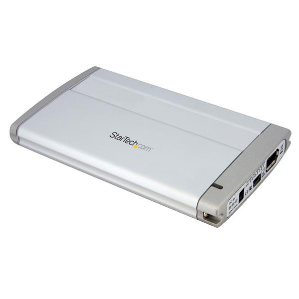 USB FireWire Enclosure - FireWire 400   USB 2.0   for 2.5in SATA ...