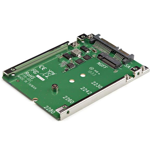 """Miscellaneous N6F3 Case -  M.2 NGFF SATA SSD to 2.5"""" SATA Adapter Case"""