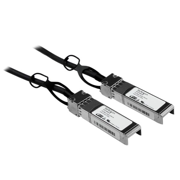 Cisco SFP-H10GB-CU3M Compatible SFP+ 10-Gigabit Ethernet (10GbE) Passive  Direct-Attach Twinax Cable - 3 m (9 8 ft)