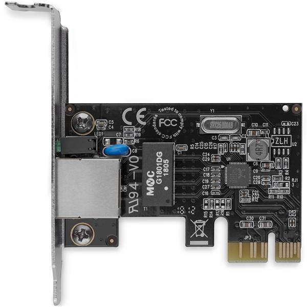 1 Port PCI Express PCIe Gigabit NIC Server Adapter Network Card - Low  Profile