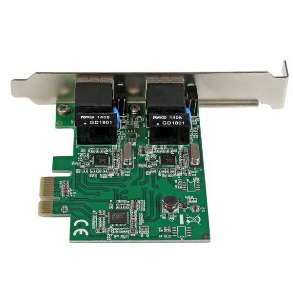 PCI Express Dual-Port Gigabit Server NIC | Network Adapter Cards ...