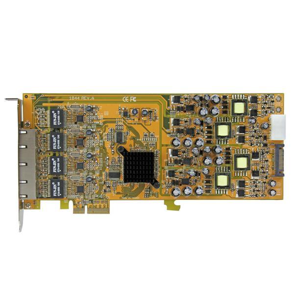 Thumbnail 4 For Port Gigabit Power Over Ethernet PCIe Network Card