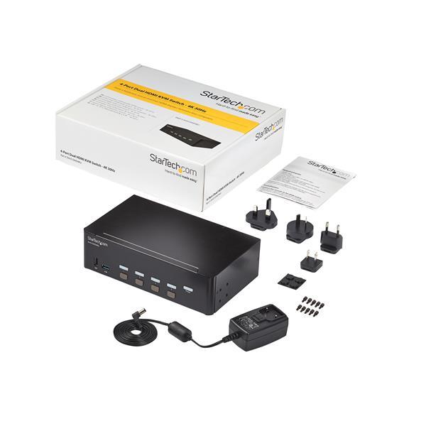 SV431HDU3A2 Commutateur /écran clavier souris HDMI avec hub USB 3.0 int/égr/é 1080p StarTech.com Switch KVM USB HDMI /à 4 ports