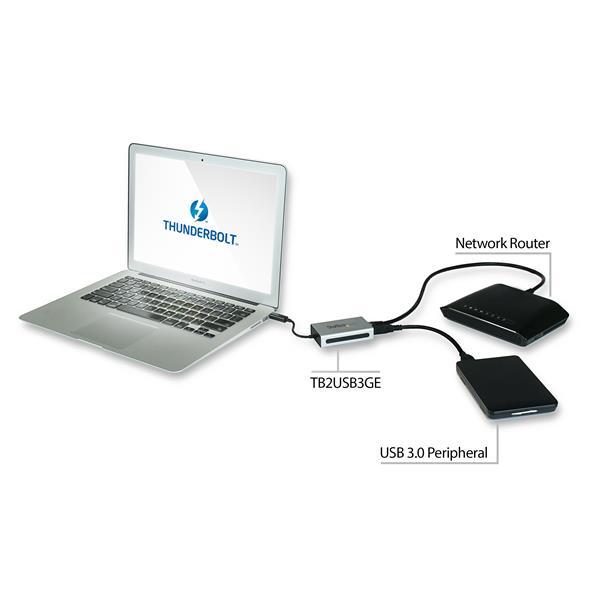 Adaptateur Thunderbolt Vers Gigabit Ethernet Usb 3 0