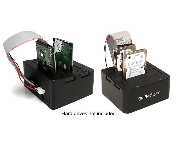 "StarTech Universal Docking Station for 2.5//3.5/"" SATA//IDE Hard Drives"