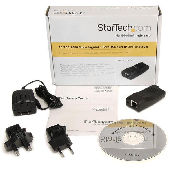 Usb Over Ip Device Server Startech Com