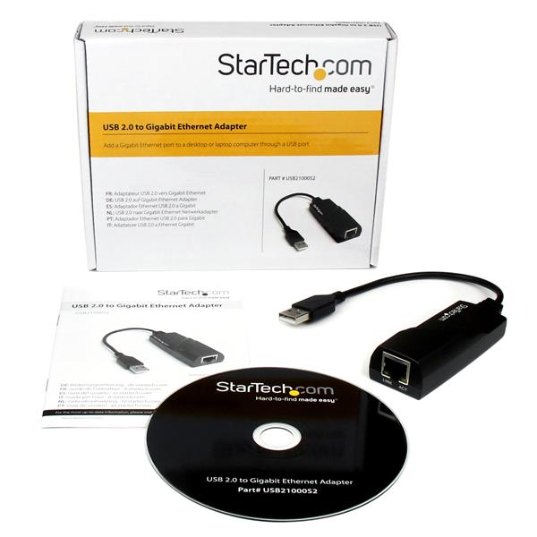 startech usb 2 to ethernet driver