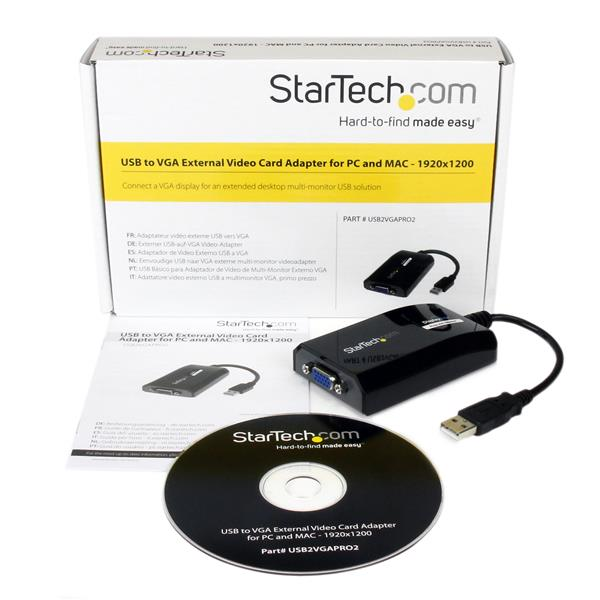 STARTECH USB VGA DRIVERS FOR WINDOWS DOWNLOAD
