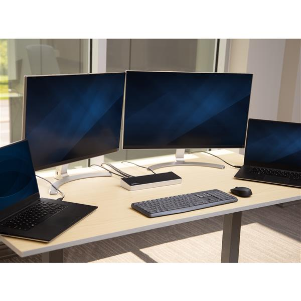 can you hook up 3 monitors to one pc Hello, i just got a hdmi cabble to hook up to my computer to make 3 screens, i already had 2 1) vga and the 2) dvi and the third would be hdmi hooked up to my vizio so far i can only use 2 screens at once, when i set my 3rd up it shuts one.