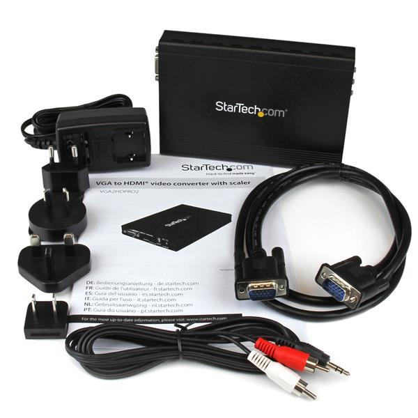 VGA to HDMI Scaler - 1920x1200