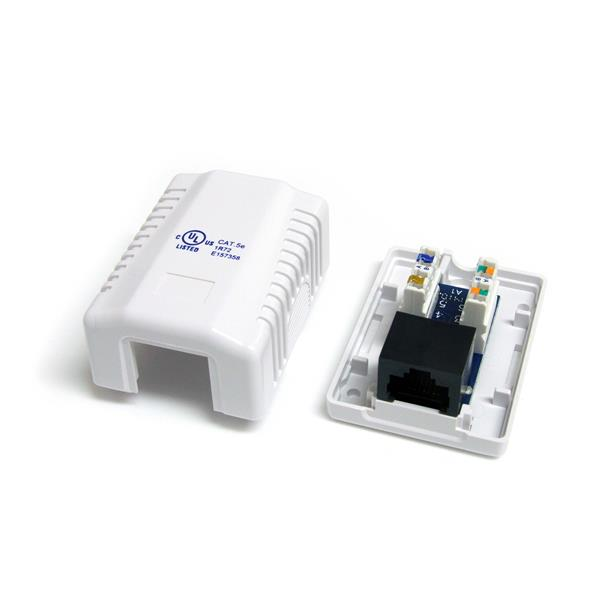 wall jack cat5e rj45 white startech com phone jack wiring cat 5 phone jack wiring codes