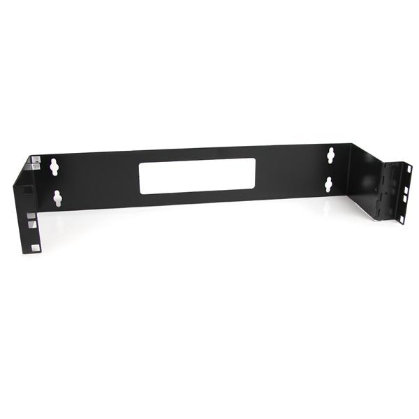 thumbnail 1 for 2u 19in hinged wall mount bracket for patch panels