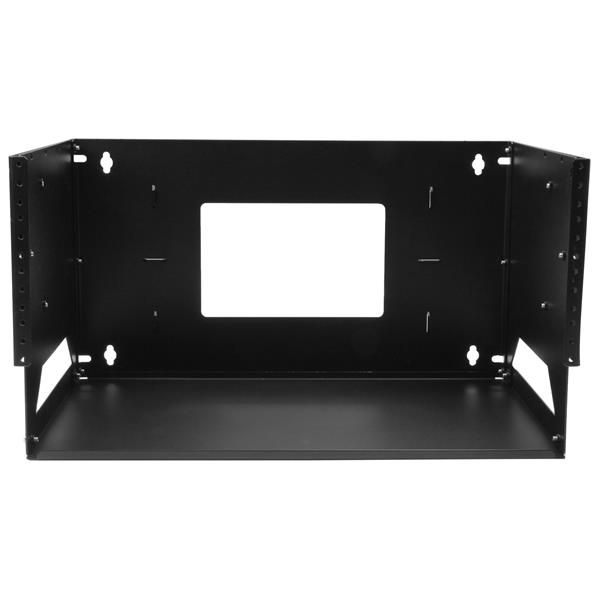 Wall Mounted Metal Shelf wall-mount server rack with built-in shelf - solid steel - 4u