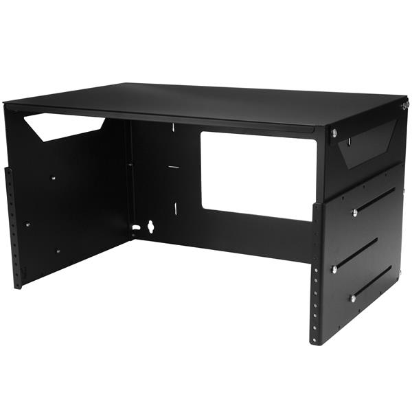 Thumbnail 5 For Wall Mount Server Rack With Built In Shelf Solid Steel