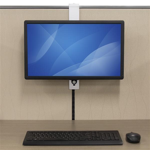 Single Monitor Mount Cubicle Hanger Display Mounting