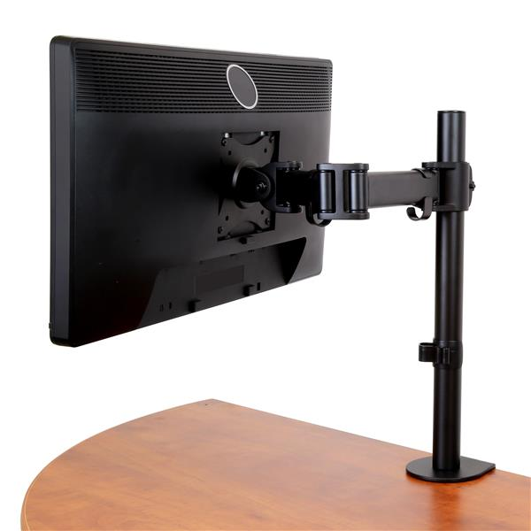 Monitor Mount With Articulating Arm Heavy Duty Steel