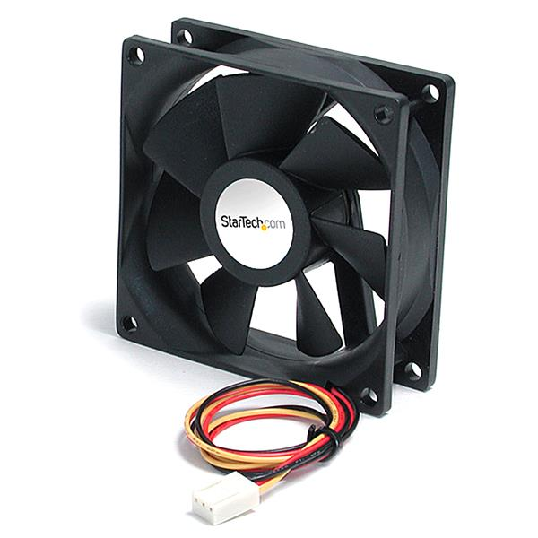Large Image for 92x25mm Ball Bearing Quiet Computer Case Fan w/ TX3 Connector