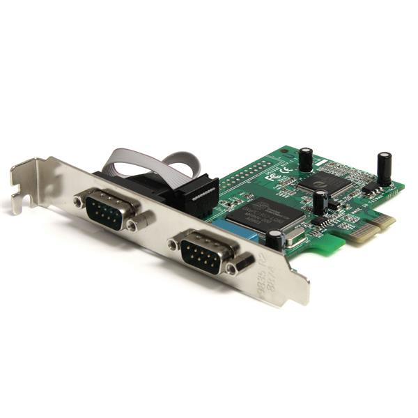 2 Port Pcie Rs232 Serial Adapter Card