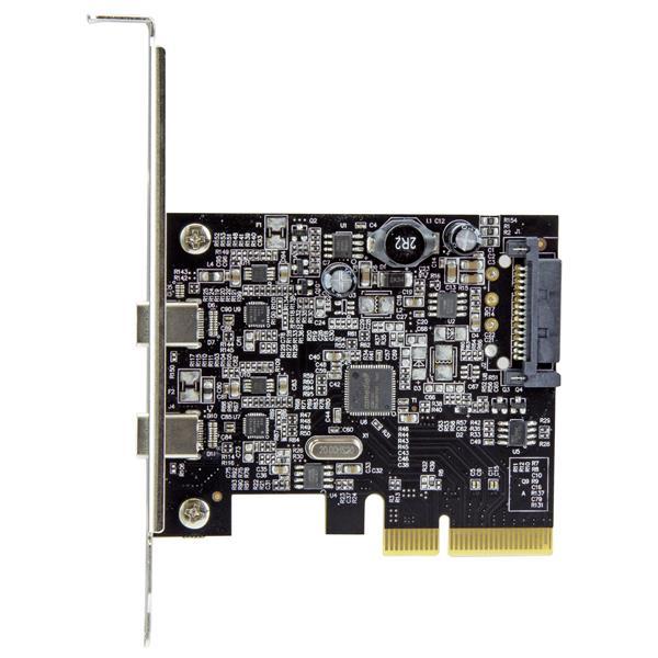 デュアルポートUSB-Cカード - 2x USB-C - USB 3.1 | StarTech.com 日本