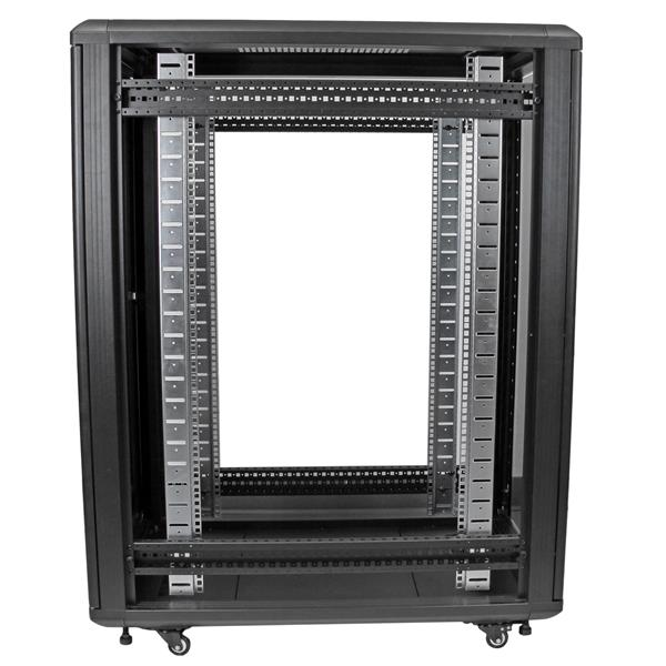 22u 36in Server Rack Cabinet With Glass Door Startech