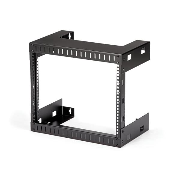 8u Open Frame Wall Mount Equipment Rack Wallmount Server