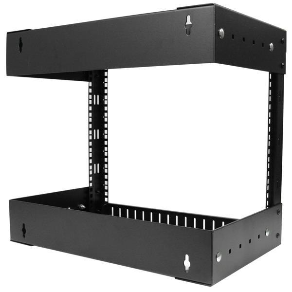 Open Frame Wall Mount Server Equipment Rack 8u
