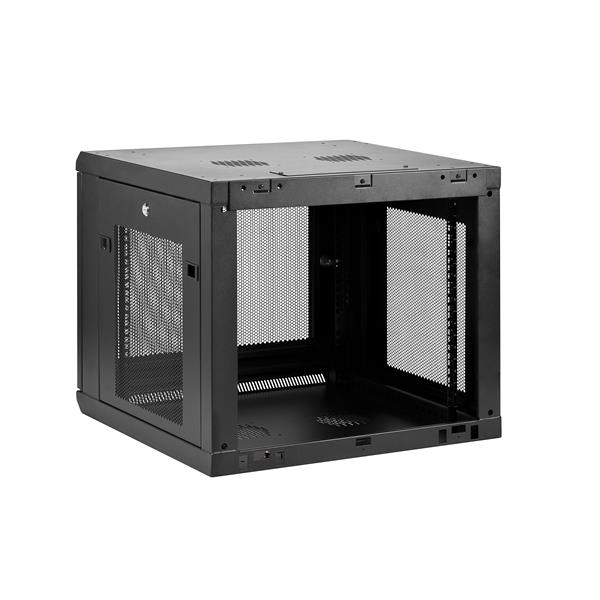 9u Wall Mount Server Rack Cabinet Up To 18 9 In Deep