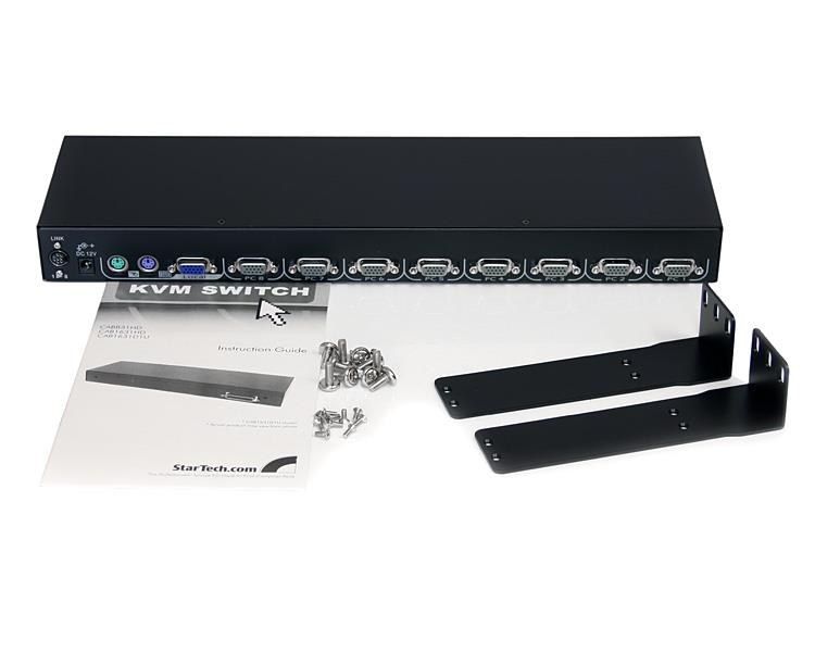 Rack Mount Lcd Console 1u Rack Lcd Integrated 8 Port