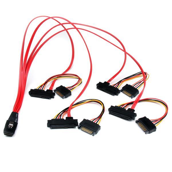 Mini Sas To Sas Cable Sff 8087 To Sff 8482 50cm