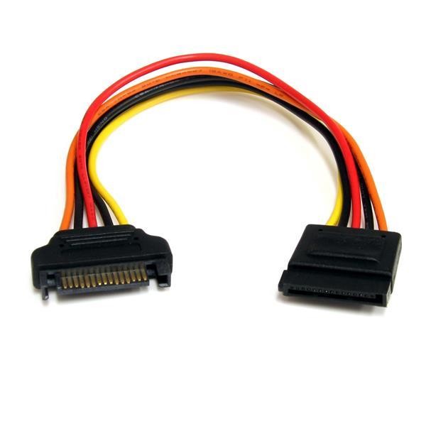 cable de extension sata alimentacion  pulgadas startech