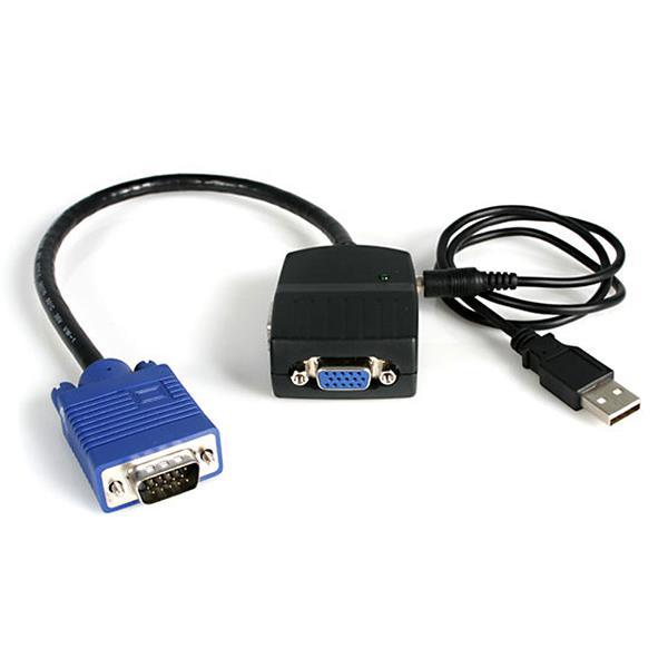 Usb Powered Vga Splitter 2 Port Startech Com United