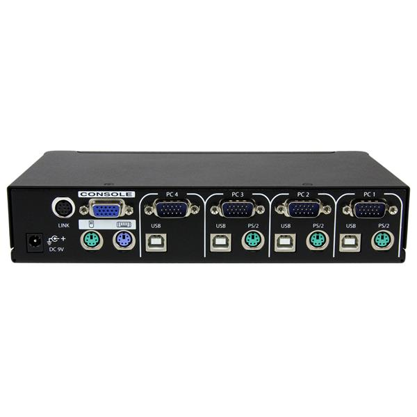 4 port professional usb ps  2 kvm switch