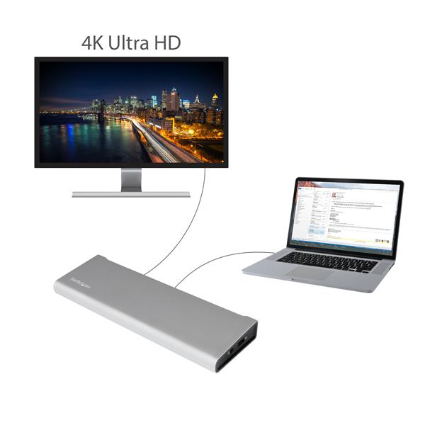 Thunderbolt 2 Laptop Docking Station Dual Video Laptop
