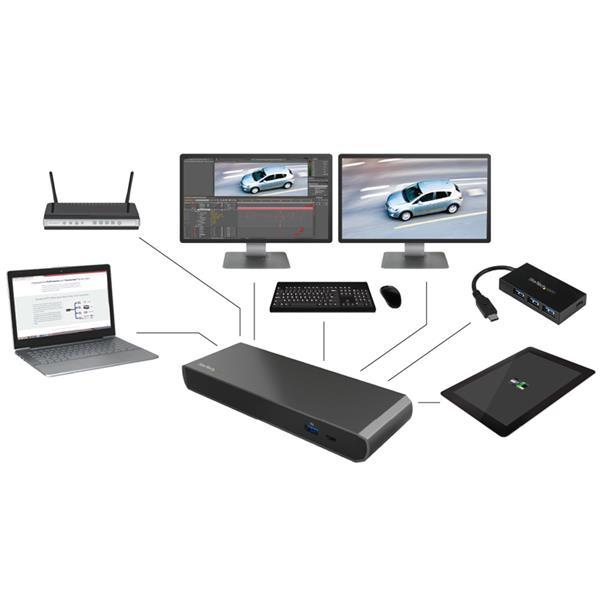 Thunderbolt 3 Dock Dual 4k Mac Amp Windows Laptop
