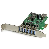 D/&H PCI-e usb 3.0 Expansion Card 7 port USB 3.0 PCI express Expansion Card pcie usb3.0 Adapter Desktop Computer