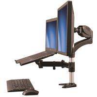 Brazo Para Un Solo Monitor Con Soporte Para Ordenador