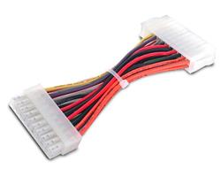 Motherboard to ATX Power Supply Adapter - (20-pin to 24-pin) M/F - 6in