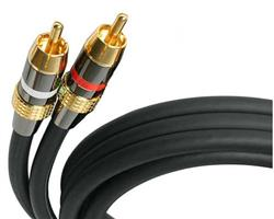 RCA Stereo Audio Cable (Premium) - M/M - 12ft