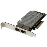 2-Port PCIe 10 Gigabit Network Adapter | StarTech com