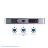 Thumbnail 3 for USB-C™ Multiport Video Adapter - 4-in-1 Aluminum - 4K 60Hz - Space Gray